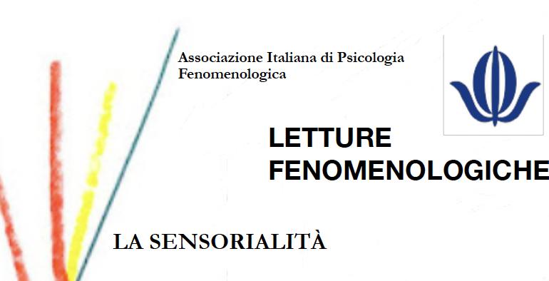 Letture fenomenologiche: la sensorialità